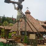 Zona del restaurante y mirador