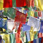 Bandiere preghiera tibetane