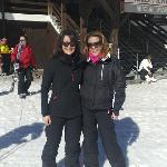 sisters on the slopes