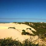 view over dunes