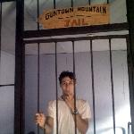 Photo Op in the town jail