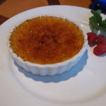 The creme brule.