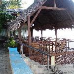Le restaurant plein air
