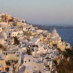 Thira - the islands capital