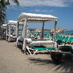 the beach beds