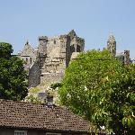 The Rock of Cashel seen from Wattie's parking area