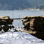view from top terrace of the Belfort restaurant