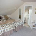 one corner of the  very largebedroom