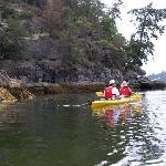 Kayaking in the islands