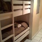 Hall bunks.. short (about 5ft)