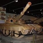 Captured Iraqi tank