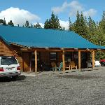 Big Moose Resort office/hosts' home