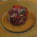 Tuna Tartare...my mouth is watering thinking about it!