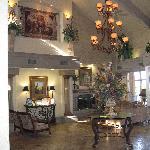 Luxurious lobby.