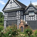 Speke Hall Tudor House/Rose Garden