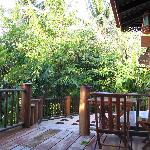 Spacious outdoor terrace at out villa