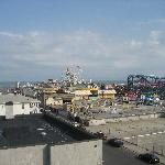 View/distance to boardwalk from the window