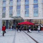 Outside bar & restaurant area