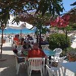 The restaurant at the beach