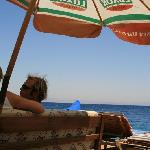 The restaurant side of Yalla.  Here you can find hands-down the best breakfast for the price (se