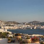 View of Mykonos Town from the Hotel