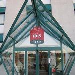 Entrance to Ibis Lausanne Crissier