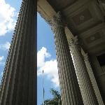 pillars of the Museum of the Filipino People