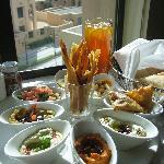 room service meze platter