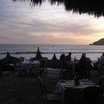 Sunset at the El Cid