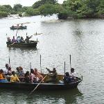 Boat safari at Ranganathittu