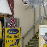 Ryan's Mini-Golf Entrance as seen from boardwalk