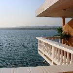 view of Lago de Peten Itza from our rrom