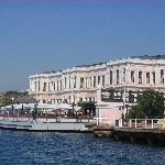 Hotel viewed from the Bosphorus