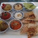 Mezze Platter lunch