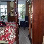 foot of bed - armoire