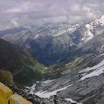 Panorama dallo Stelvio