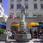 Statua di S. Maurizio a S. Moritz