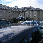 car park & hotel