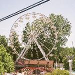 Huge ferris wheel