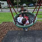 Even the swing is a Giant Cup that sit 3 kids easily!