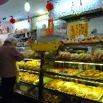 in a Chinese bakery