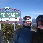 Heading to Peak 7