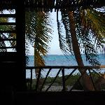 View from sea front Cabana