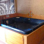 Spa in the 3-bedroom apartment, wicked fun!