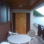 Gallette Cottage balcony