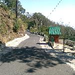 way to sunset point in kasauli