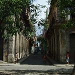 Calle Cristo - Casa Ricci location