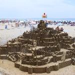 A fantastic sandcastle