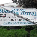 Sign for the Maritime Festival