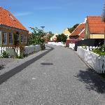 A street in Skagen